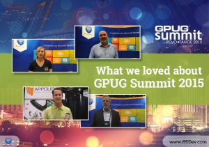 We took Home a Wealth of Information and Valuable Contacts from the GPUG Summit 2015