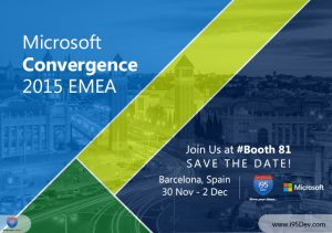 Visit i95Dev at Booth 81 at Convergence EMEA 2015