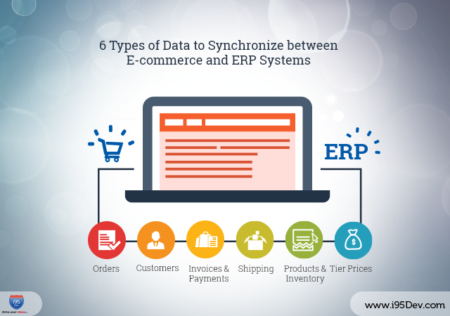 6 Types of Data to Synchronize between E-commerce and ERP Systems