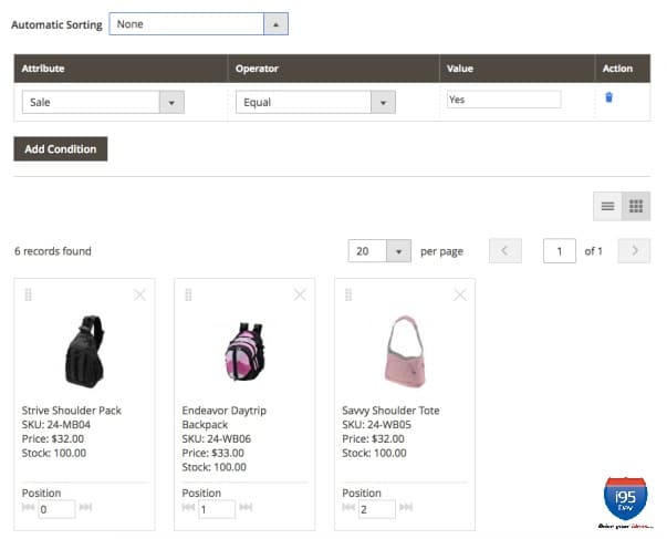 i95Dev - Visual Merchandizer to Boost Conversions