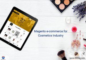 Magento e-commerce cosmetic brands