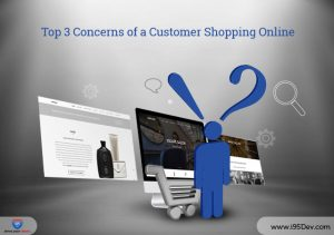 Concerns of a customer shopping online