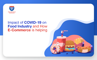 Impact of COVID-19 on Food Industry and How eCommerce is helping